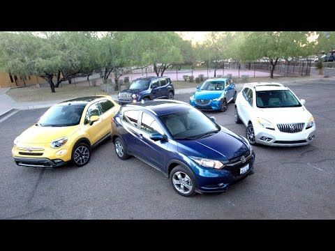 2016 Subcompact SUV Comparison Test Video by Kelley Blue Book's Editorial Team