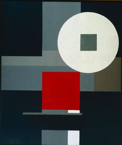 Friedrich Vordemberge-Gildewart Composition No. 15 1925 Oil on canvas