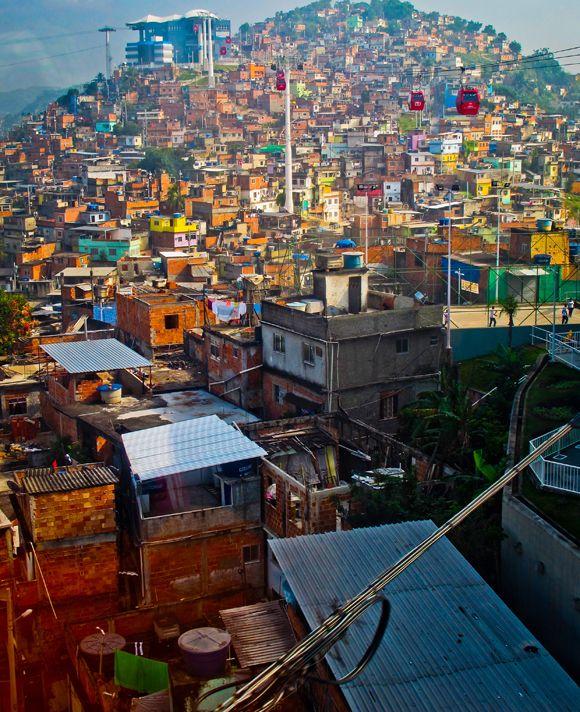 Morro do Alemão - Rio de Janeiro, Brasil.