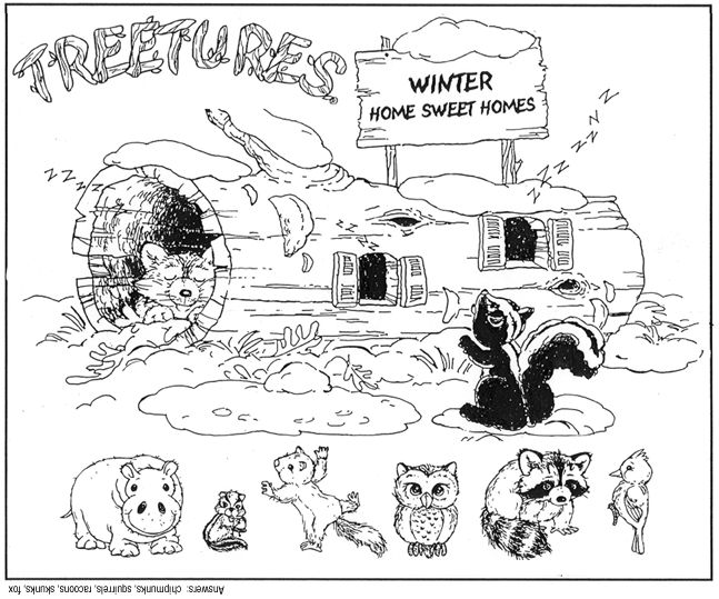 Coloring Pages Of Animals In Winter. Hibernating Animals Coloring Pages Hibernation Sheet  29 Best Images On Preschool Winter hibernating animals coloring pages Page for kids