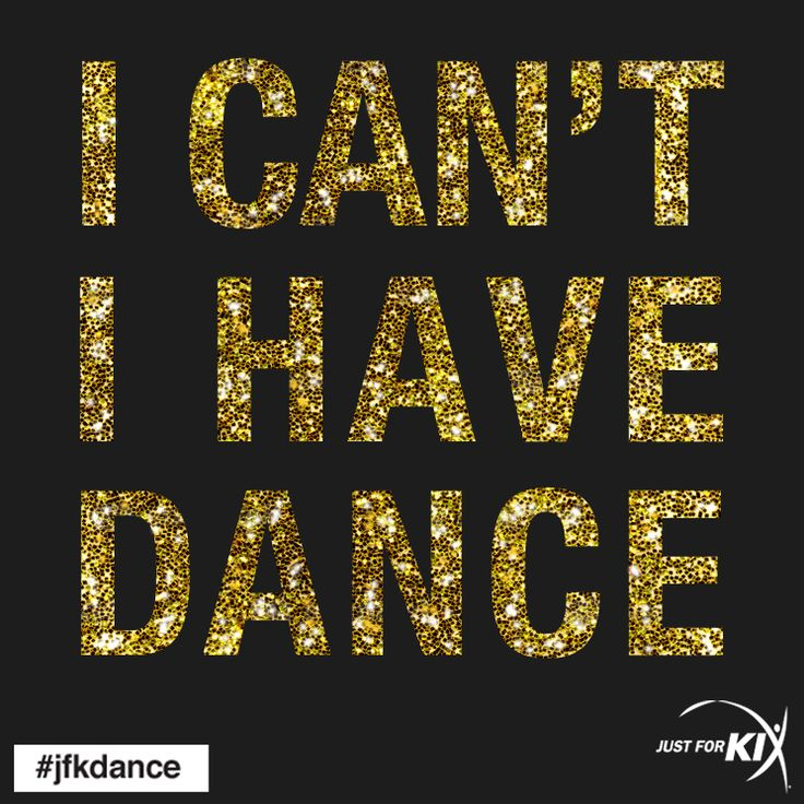 I can't, I have dance #dance