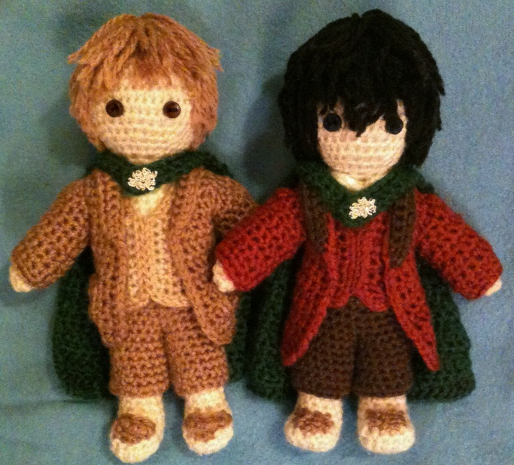 Amigurumi Magische Ring : From Lord of the Rings, Sam Gamgee and Frodo Baggins ...