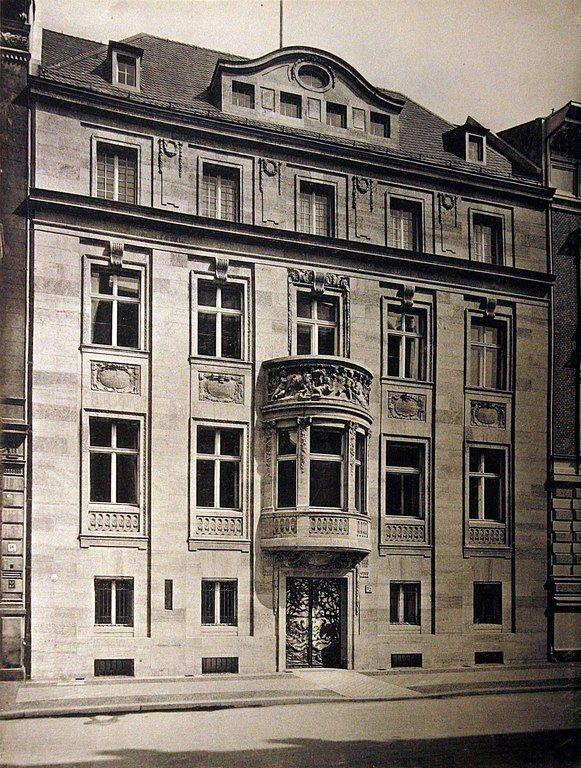 Berlin, wie es damals war, Vossstraße 15_erbaut 1906-07 von Kayser & v Groszheim_BfAuK_1908 (abgerissen für die Neue Reichskanzlei)