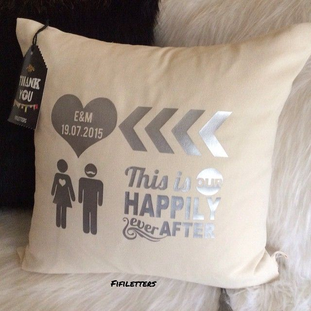 This is Our Happily Ever After   #fifiletters #pillows #yastik #yilbasi #hediye #kırlent #harf #aydinlatma #lamba #kirmizi #dekorasyon #ev #decoration #tasarim #design #mavi #sarı #yesil #pembe #vintage #kisiyeozel #isim #ampul #siyah #beyaz #kar #kis #winter #snow #family #smile #wife #husbant #beyaz
