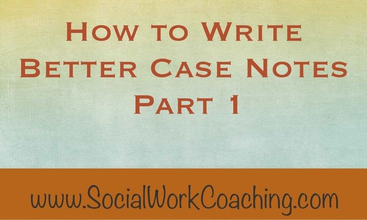 Learn how to write social work case notes by including interventions into your progress notes. Interventions often get overlooked in social work case notes.