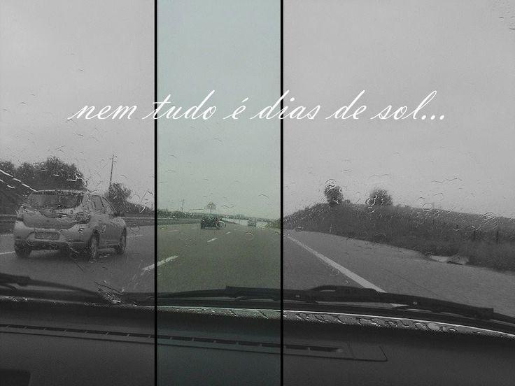 {tem dias em que a chuva cai...}
