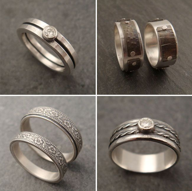one-of-a-kind wedding rings from Down to the Wire