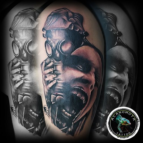 Created and suggested by Acanomuta tattoo studio in Athens.