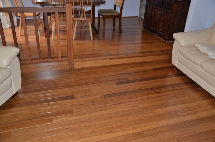 Solid 10mm Prolex Bamboo Flooring - Carbonised.