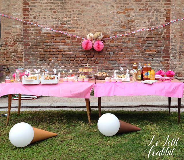 Le Petit Rabbit: [KIDS] Ice Cream Party: il terzo compleanno di Gin...