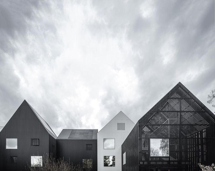 Kleine Häuser - Kindergarten in Kopenhagen von COBE