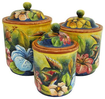 Mexican Home Accents mediterranean-food-containers-and-storage
