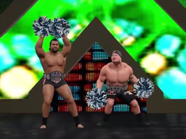 THECHIVE (POSTED BY DOUGY) WWE GAMES CAN HAVE THE BEST WTF MOMENTS
