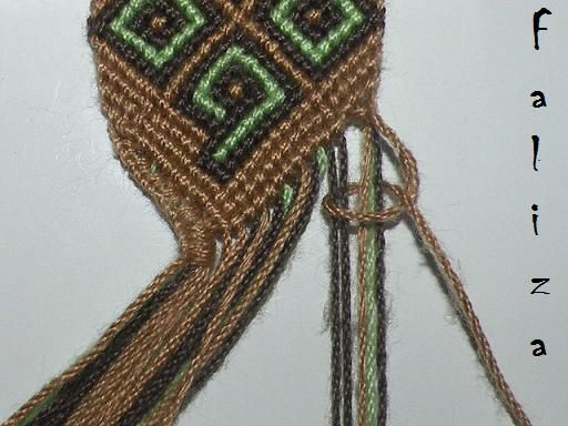 how to start and finish a friendship bracelet