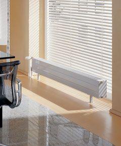 Konvektor KSN  Kermi Konvektor KSN. Mit integriertem Strahlungsschirm.  KSN  Was die Wärmeschutzverordnung fordert ist hier unsichtbar integriert: die Wärmedämmung zur Vermeidung von Wärmeverlusten vor außenliegenden Fensterflächen.    In einem speziellen Verfahren entwickelt und auf der Konvektorrückseite installiert, verhindert sie wirkungsvoll die Abstrahlung zur Fensterfläche und sorgt dadurch für eine Wärmeverlustverringerung um bis zu 80 Prozent.