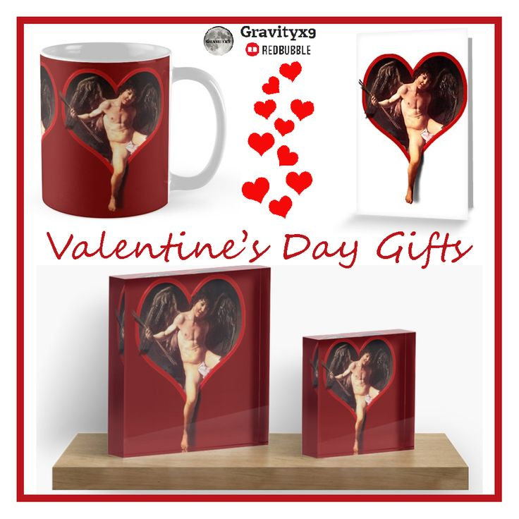 Caravaggio's Cupid  Valentine Greeting Card and  gifts at Redbubble by #Gravityx9 Designs ~  • Also buy this artwork on stationery, apparel, stickers, and more. #valentinesdaycards   #valentinesday #valentinesgifts  #14thfebruary