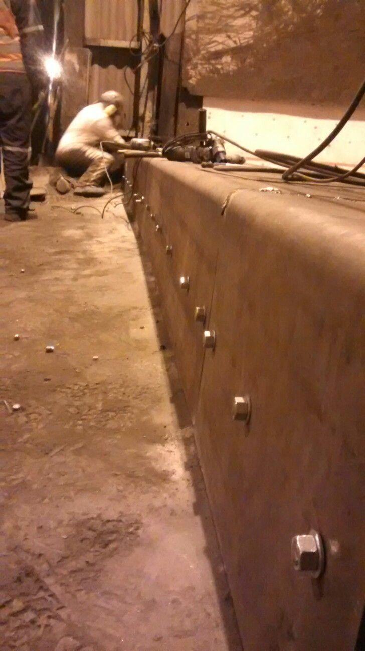 Mantención tolva concentrado de cobre. País chile