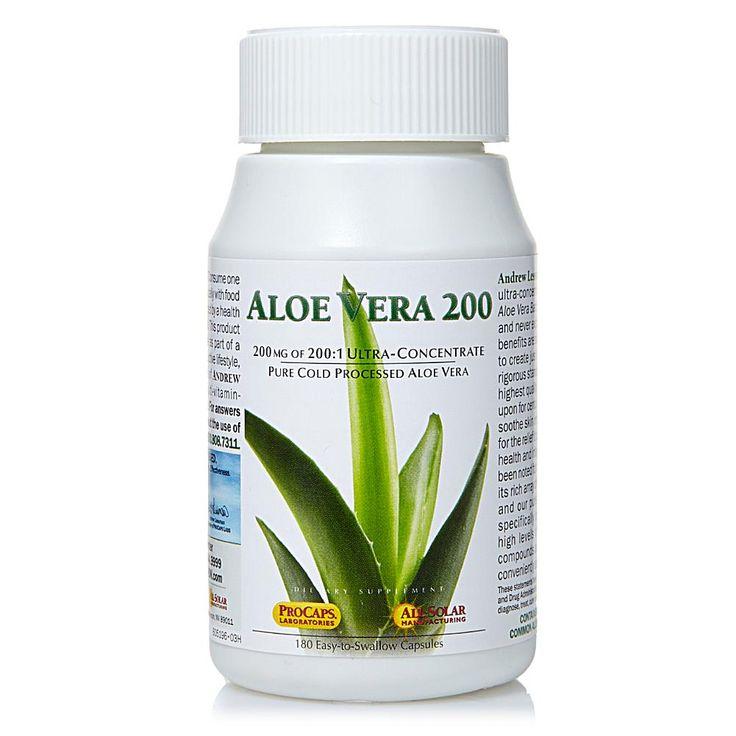 Andrew Lessman Aloe Vera-200 - 180 Capsules