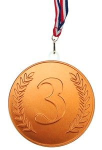 Chocolate Trading Co 100mm Bronze chocolate medal - Single medal Our chocolate medals provide a fun reward for friends, family or business use such as staff incentives, corporate events. This bronze chocolate medal is made from high quality milk chocolate. http://www.MightGet.com/february-2017-2/chocolate-trading-co-100mm-bronze-chocolate-medal--single-medal.asp