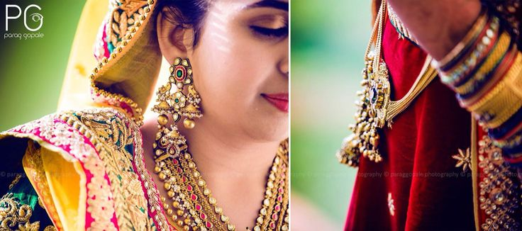 Shine of Emotions.  The relation of jewellery and emotions has always been fascinating. Captured here are Pooja's jewelled emotions as she speaks about her groom-to-be.