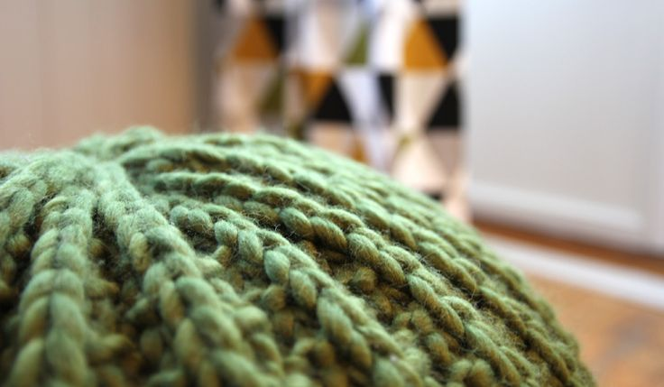Puff Mama - free knitting pattern - Pickles