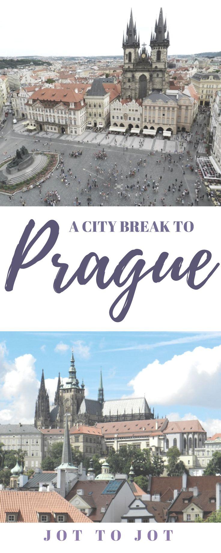 A city break to Prague #travel #traveldestinations