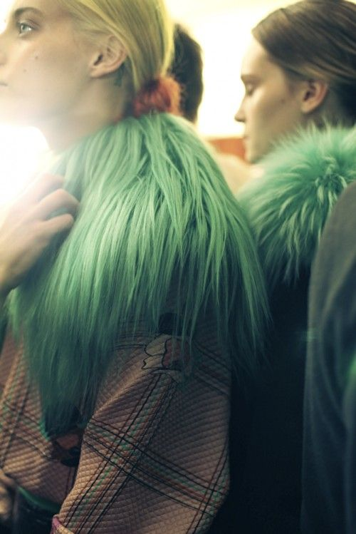 Backstage at Roksanda Ilincic AW13