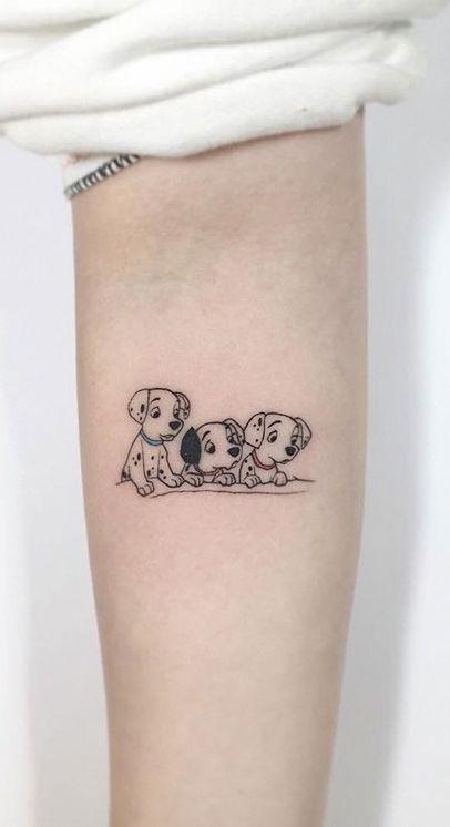 75 Weitere kleine Tattoo-Ideen von Playground Tattoo #disney_tattoo_for_women #tattoosforwomen