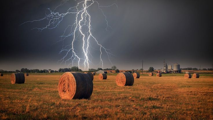How to protect your farm and your fence from lightning.