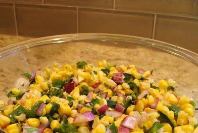 Chipotle's Roasted Corn Salsa Copycat Recipe