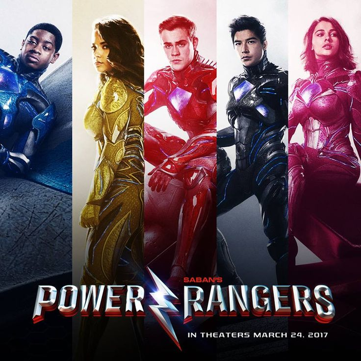 It's time to suit up. See the #PowerRangersMovie in theaters March 24, 2017! #TogetherWeAreMore