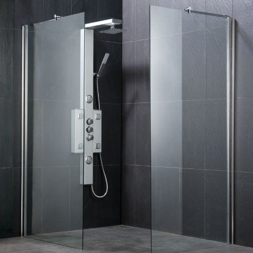 Trueshopping Modern Bathroom Wet Room Screen Panel 8mm Toughened Safety Glass Stainless Steel Fixing Bracket - Si No description (Barcode EAN = 5051752407697). http://www.comparestoreprices.co.uk/december-2016-6/trueshopping-modern-bathroom-wet-room-screen-panel-8mm-toughened-safety-glass-stainless-steel-fixing-bracket--si.asp