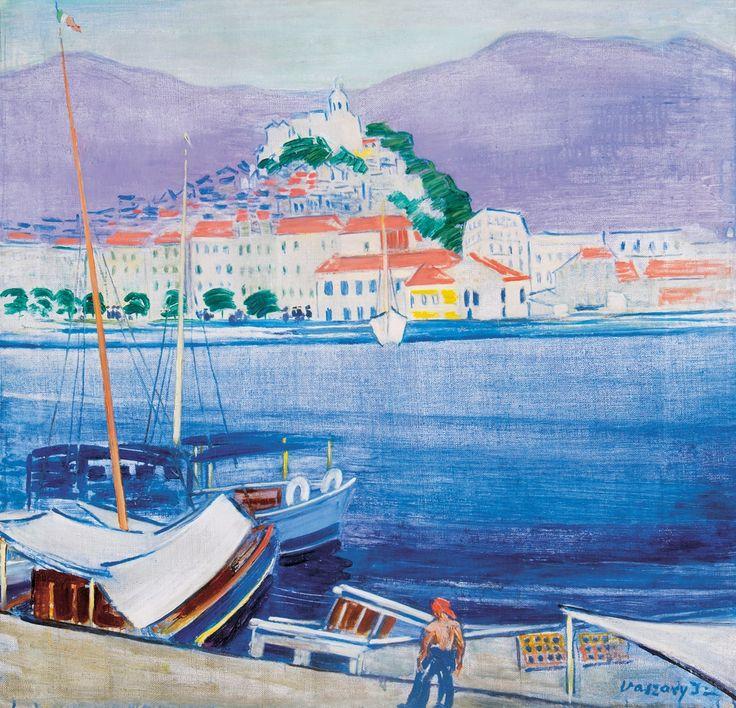 Vaszary János: Sanremo, 1937.