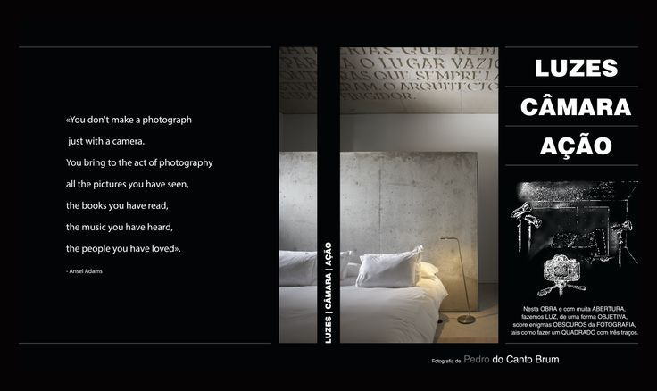 Livro sobre a Fotografia em Estúdio e as Técnicas de Composição e Iluminação.