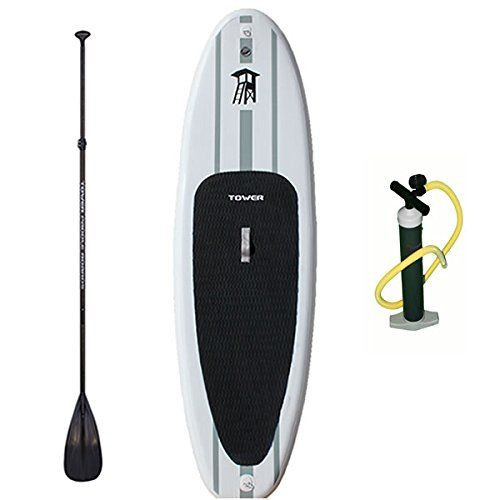 """Tower Paddle Boards Adventurer Inflatable 9'10"""" SUP Package"""