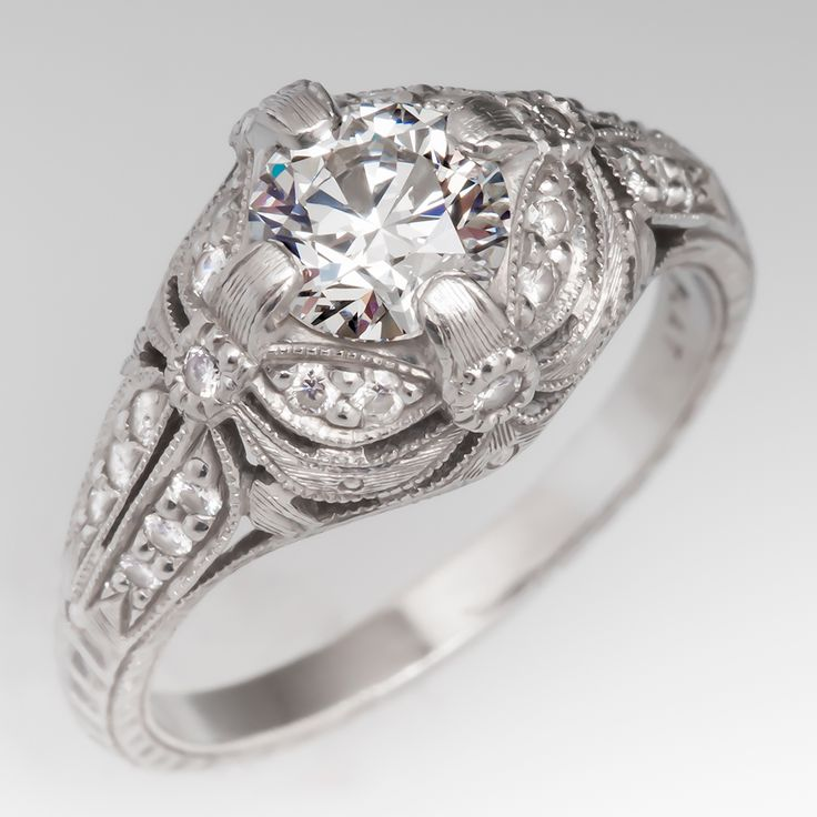 270 Best Images About Vintage Engagement Rings On