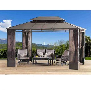 Palermo 3600 12x12 Gazebo | Overstock.com Shopping - The Best Deals on Gazebos