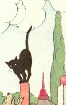 Benjamin Rabier - Le Chat