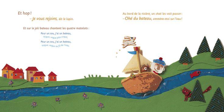 Le Bateau de monsieur Zouglouglou  - Didier Jeunesse