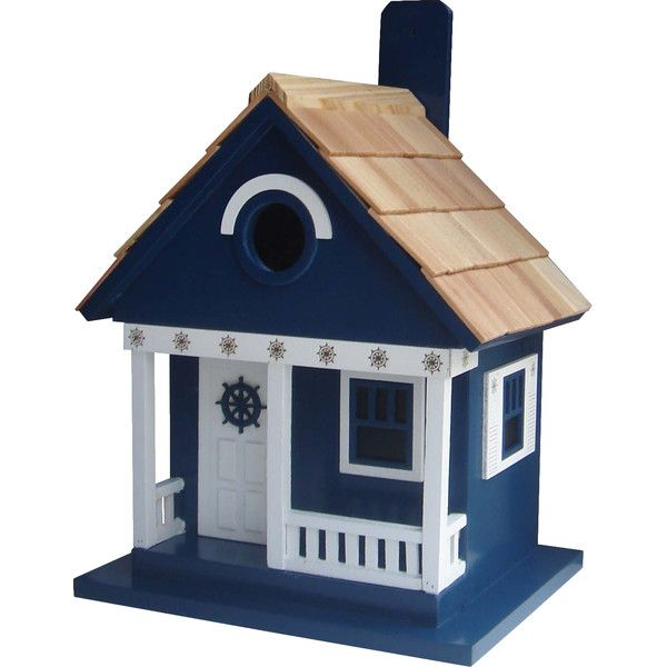 Beach Cottage Birdhouse