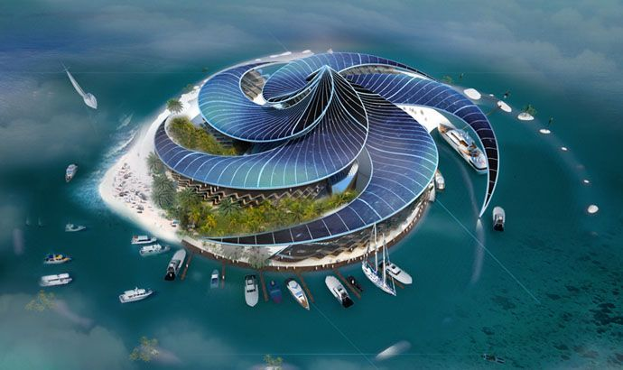5-star Hotel and resort in Dubai, the World Islands