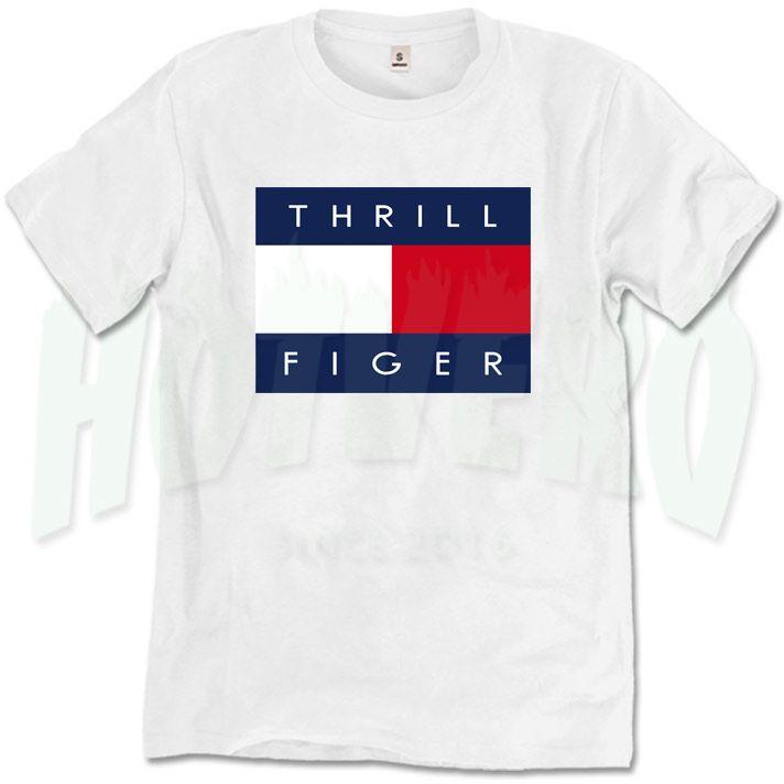 Thrill Figer Urban T Shirt, Cheap Urban Clothing //Price: $14.00//     #90shiphopfashion