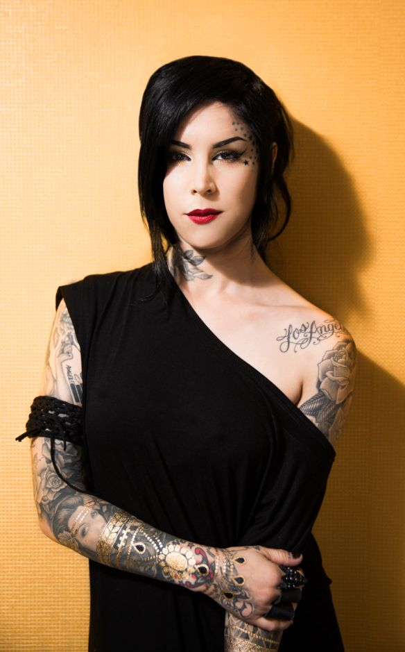 sneak peek at Kat von D in Inked Magazine Australia - Kat von D Unlimited