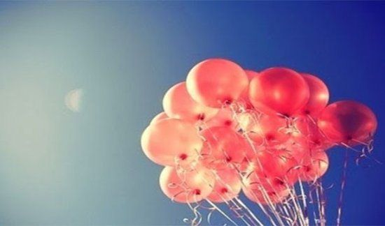 Globophobia  Fear of balloons popping