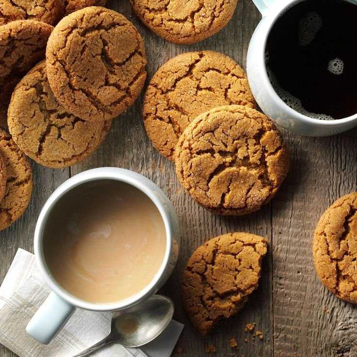 Big Soft Ginger Cookies Recipe -These nicely spiced soft cookies are perfect for…