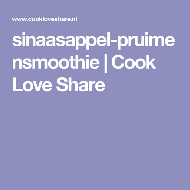 sinaasappel-pruimensmoothie |       Cook Love Share