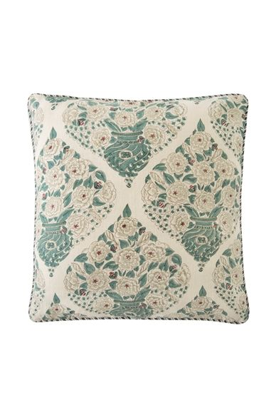 Goodearth - Champaka :Linen Cushion