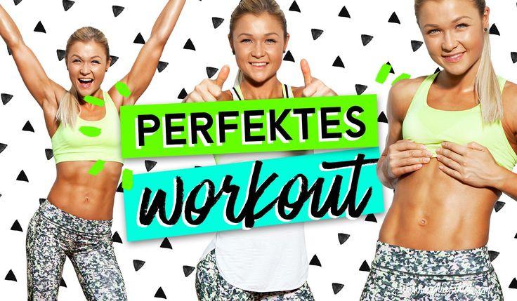 ♥ Das PERFEKTE Workout ♥ Full BODY Homeworkout