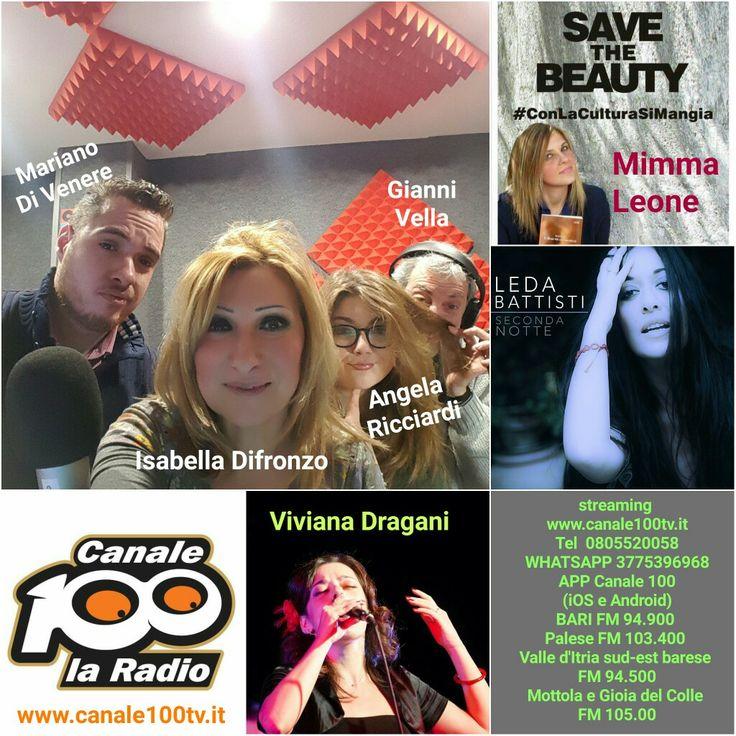 Domani ore 10.00 in diretta  streaming www.canale100tv.it Tel 0805520058 WHATSAPP 3775396968 APP Canale 100 (iOS e Android) BARI FM 94.900  Palese FM 103.400  Valle d'Itria sud-est barese  FM 94.500 Mottola e Gioia del Colle  FM 105.00
