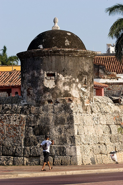 Murallas y Garita. UNESCO World Heritage Site ~ Cartagena de Indias, Colombia.  Photo: Marc Hors, via Flickr